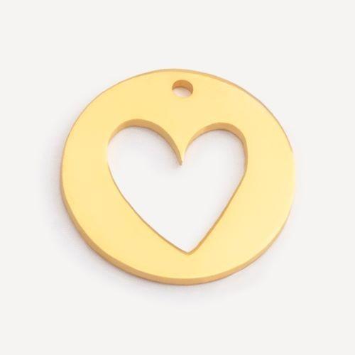 Medalik serce